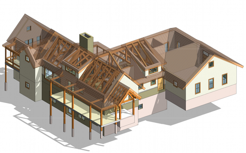 Best revit training in chandigarh caddprimer india for Revit architecture modern house design